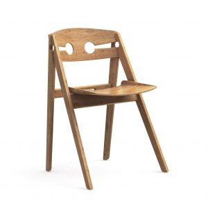 We Do Wood Dining Chair No 1 – Hvid