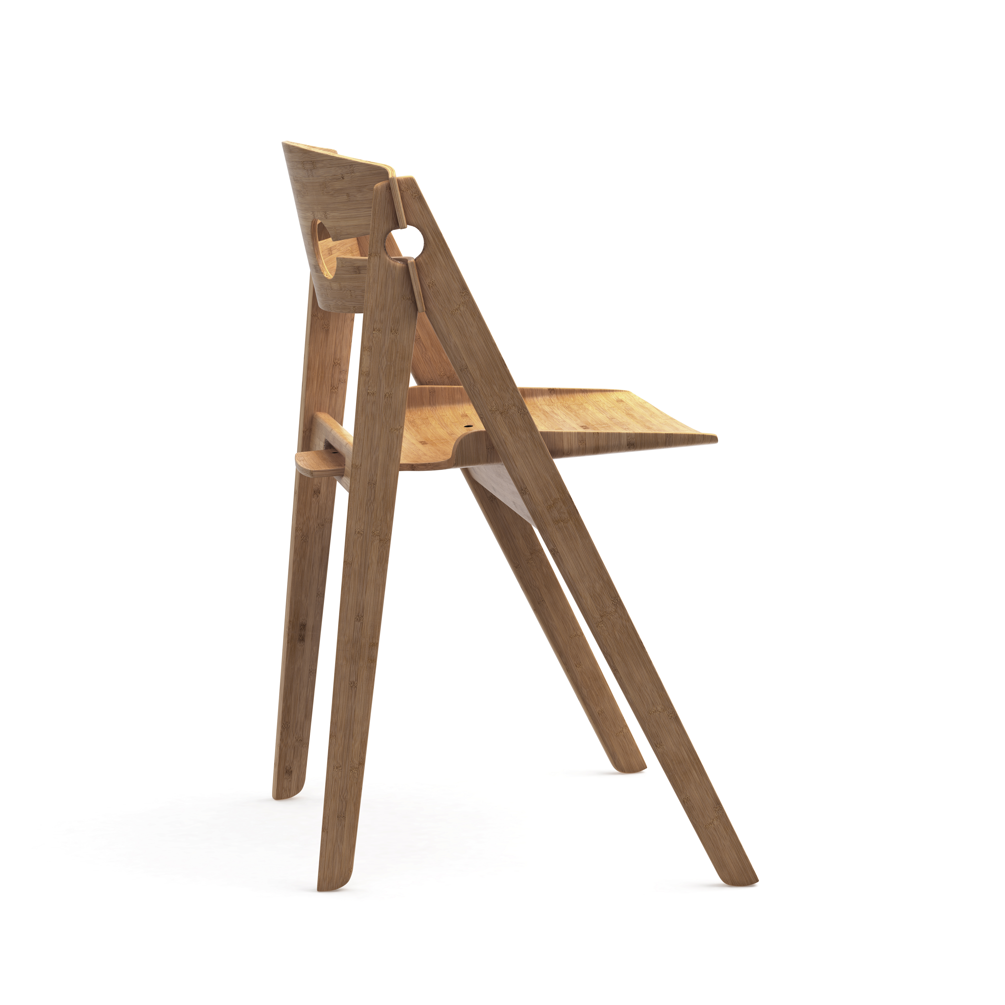 We Do Wood Dining Chair No 1 - Natur