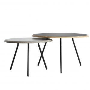 Woud Soround side table Ø75 / high