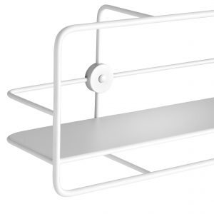 Woud Coupé Horizontal shelf / hvid