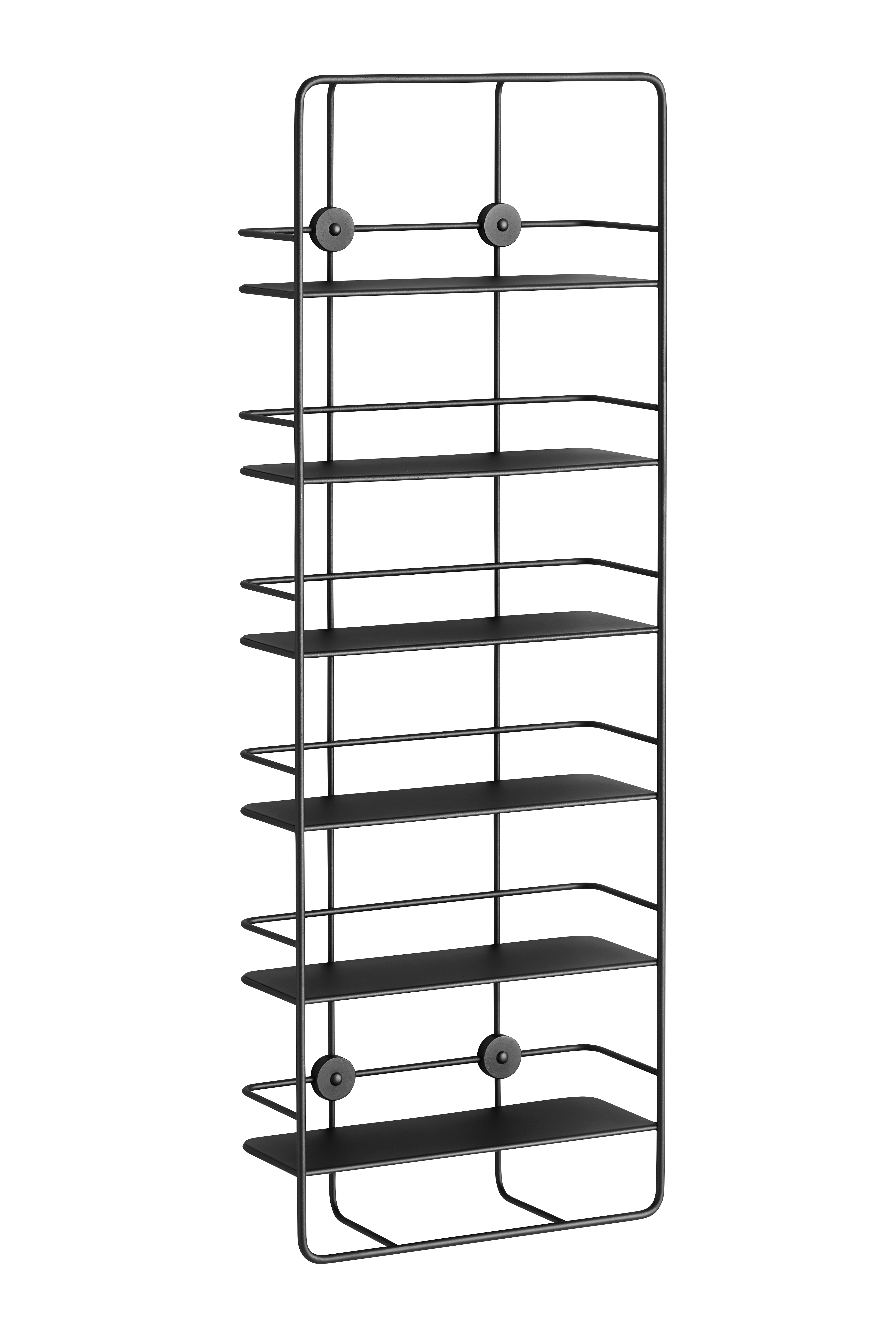 Woud Coupé Vertical shelf, sort