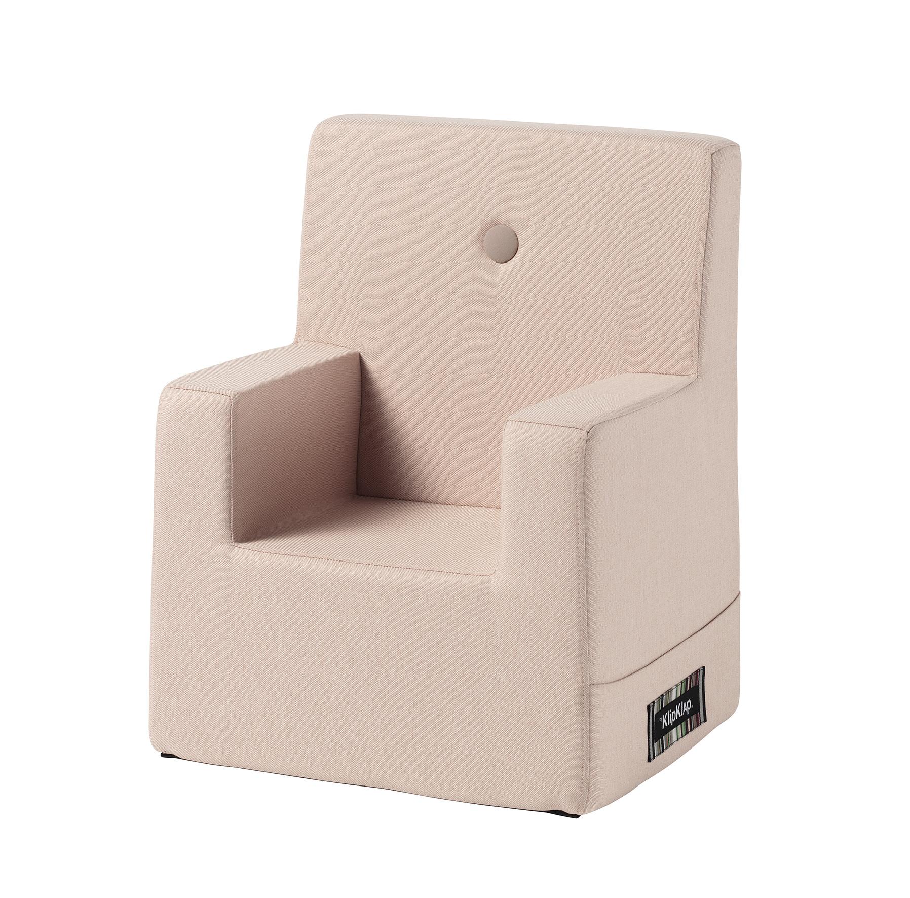 By KlipKlap XL børnestol sart lyserød / lyserød