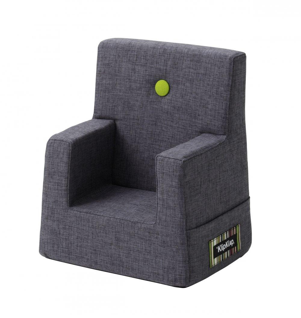 By KlipKlap børnestol blågrå / grøn