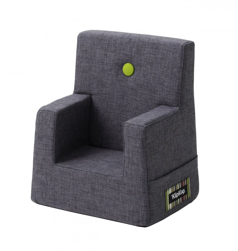 Image of   By KlipKlap børnestol blågrå / grøn