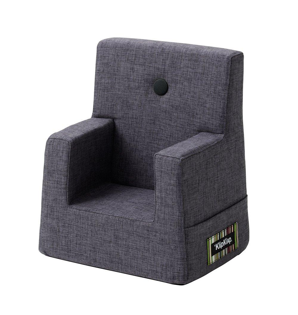 By KlipKlap børnestol blågrå / grå