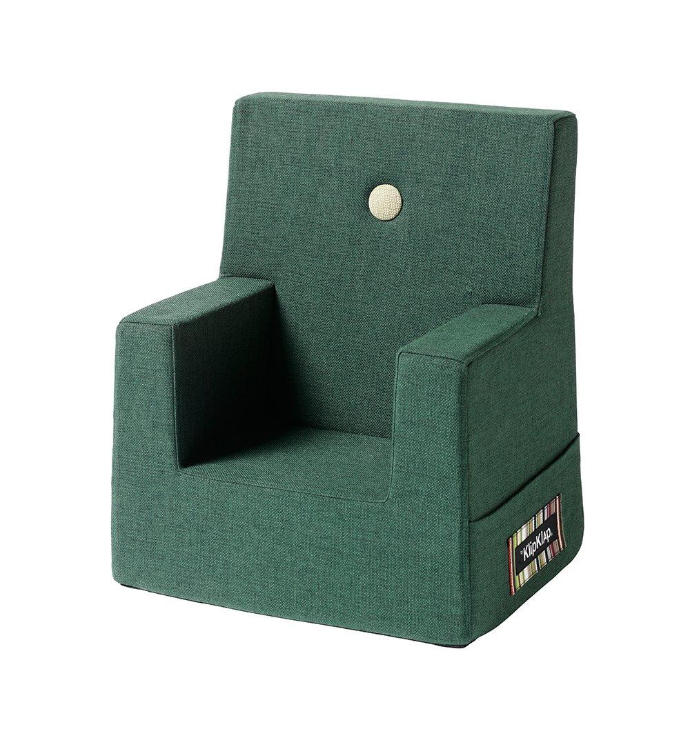Image of   By KlipKlap børnestol mørkegrøn / grøn