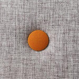 By KlipKlap 3 fold foldemadras lysegrå / orange