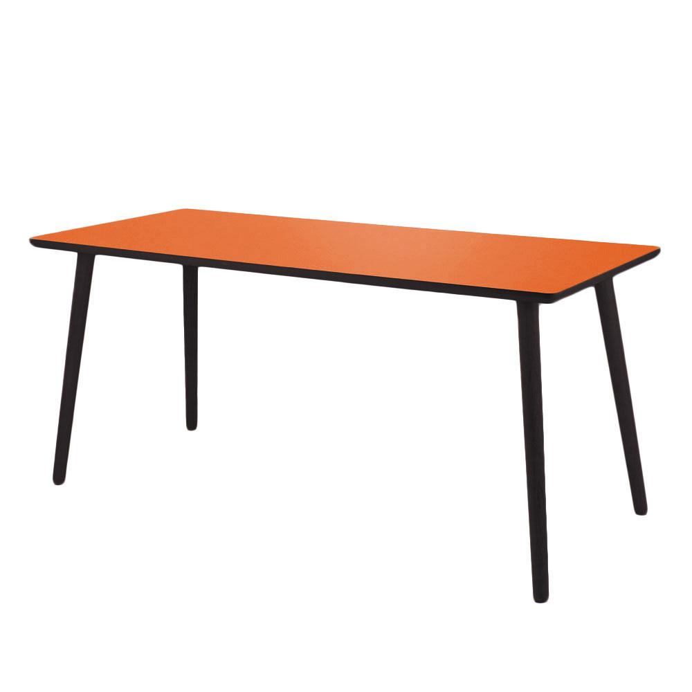 Image of   Clementine skrivebord / sort kant