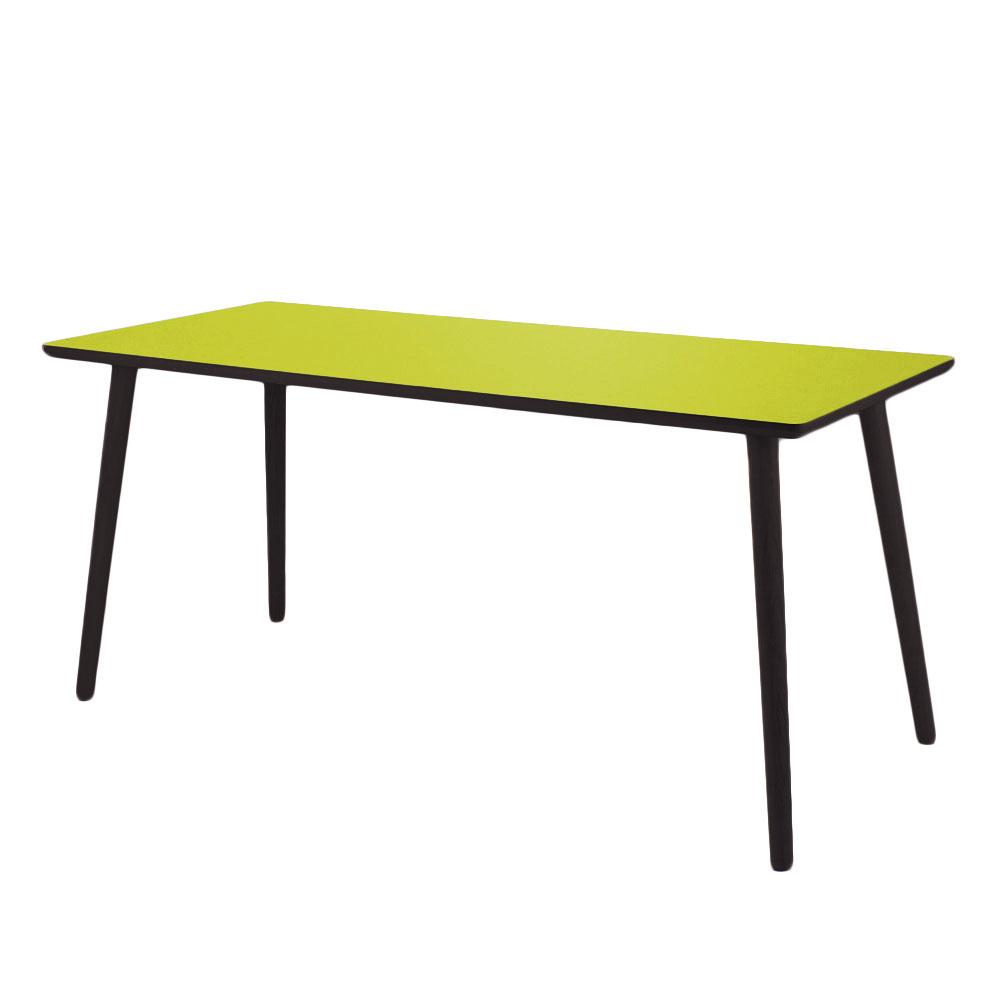 Image of   Wasabi skrivebord / sort kant