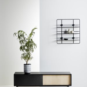 Woud Coupé Rectangular shelf / sort