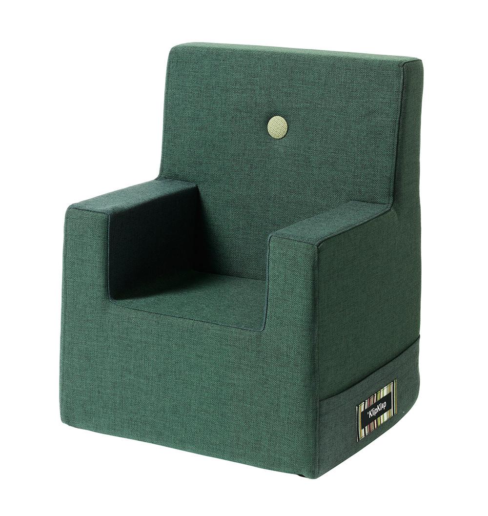 By KlipKlap XL børnestol mørkegrøn / grøn