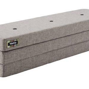 By KlipKlap 3 fold XL foldemadras lysegrå / grå
