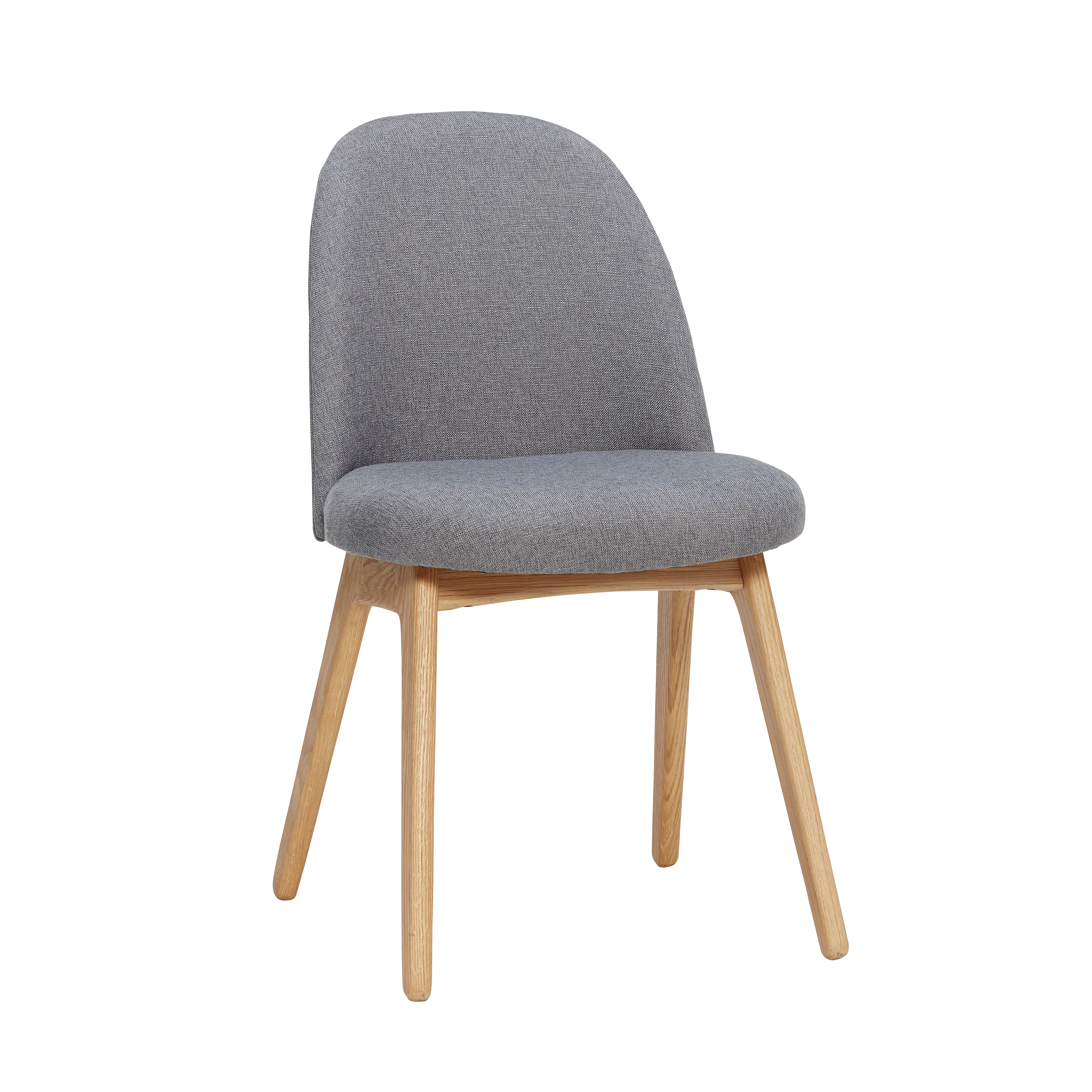 Image of   Hübsch Sebastian stol / mørkegrå