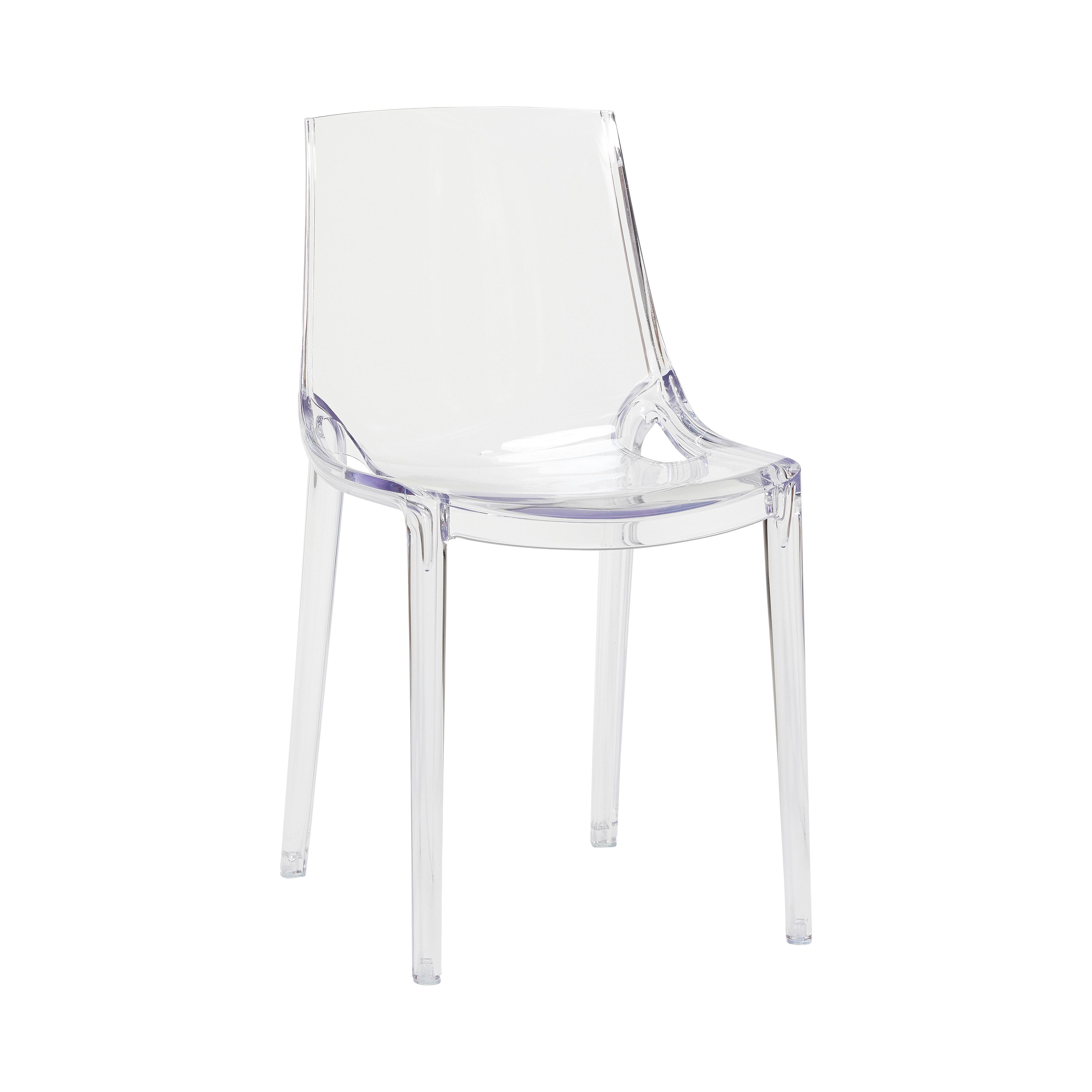 Image of   Hübsch Seoul plastik stol / klar