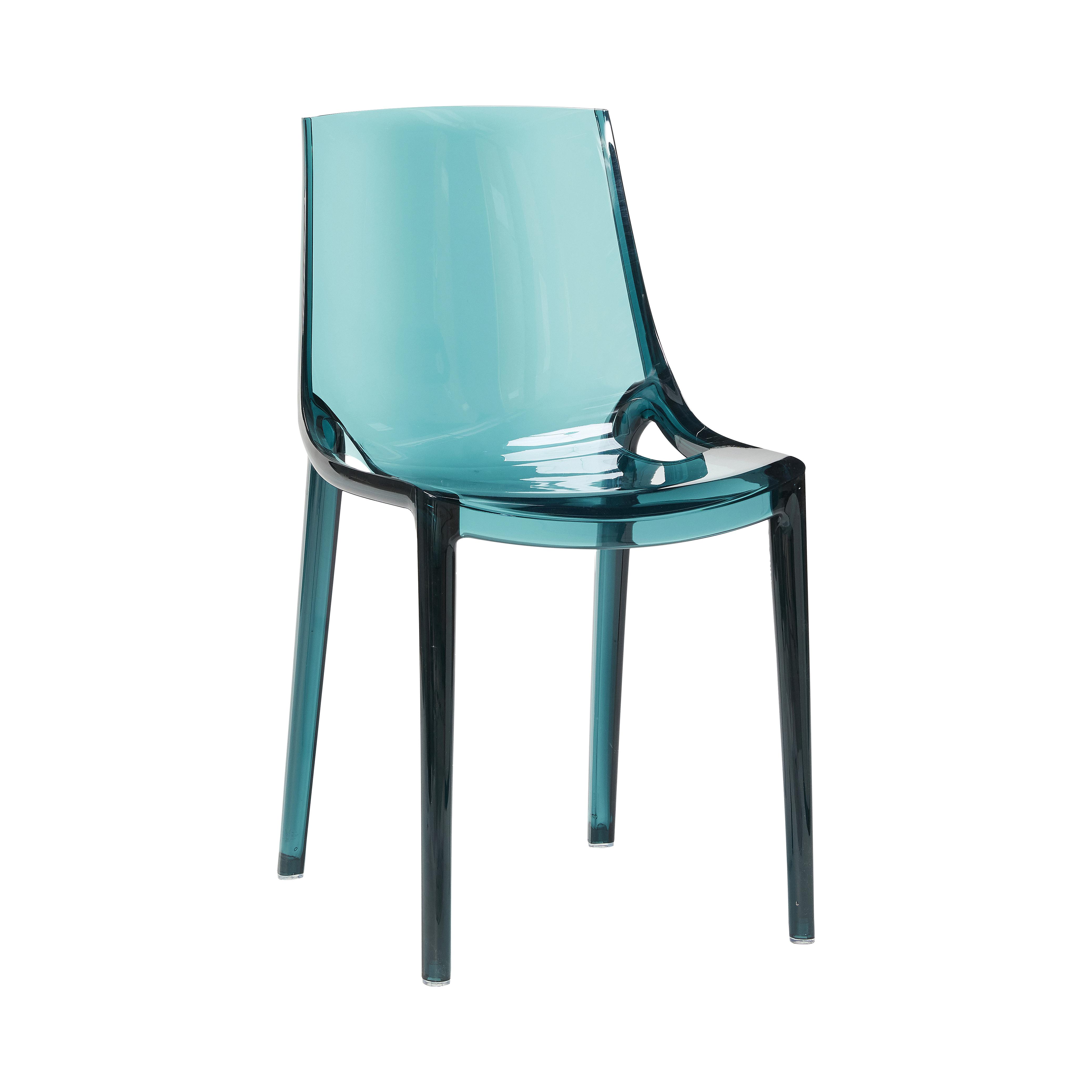 Hübsch Seoul plastik stol / grøn