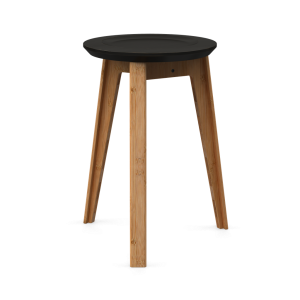 We Do Wood Button Stool / Sort