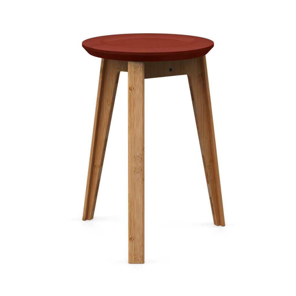 Image of   We Do Wood Button Stool / Rød