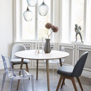 Hübsch Sebastian stol / mørkegrå