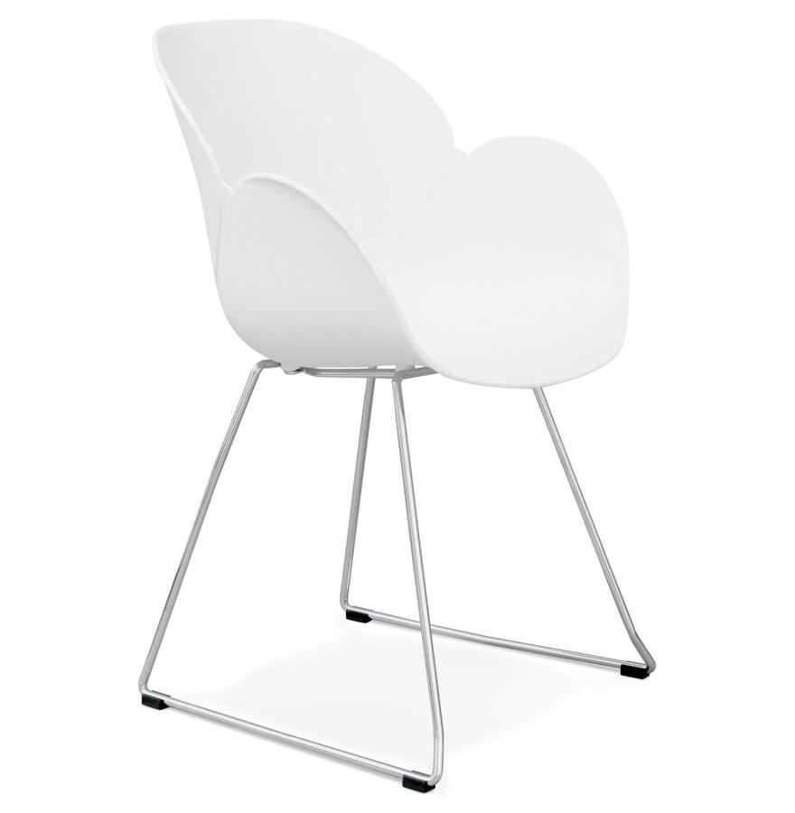 Testa spisebordsstol / hvid