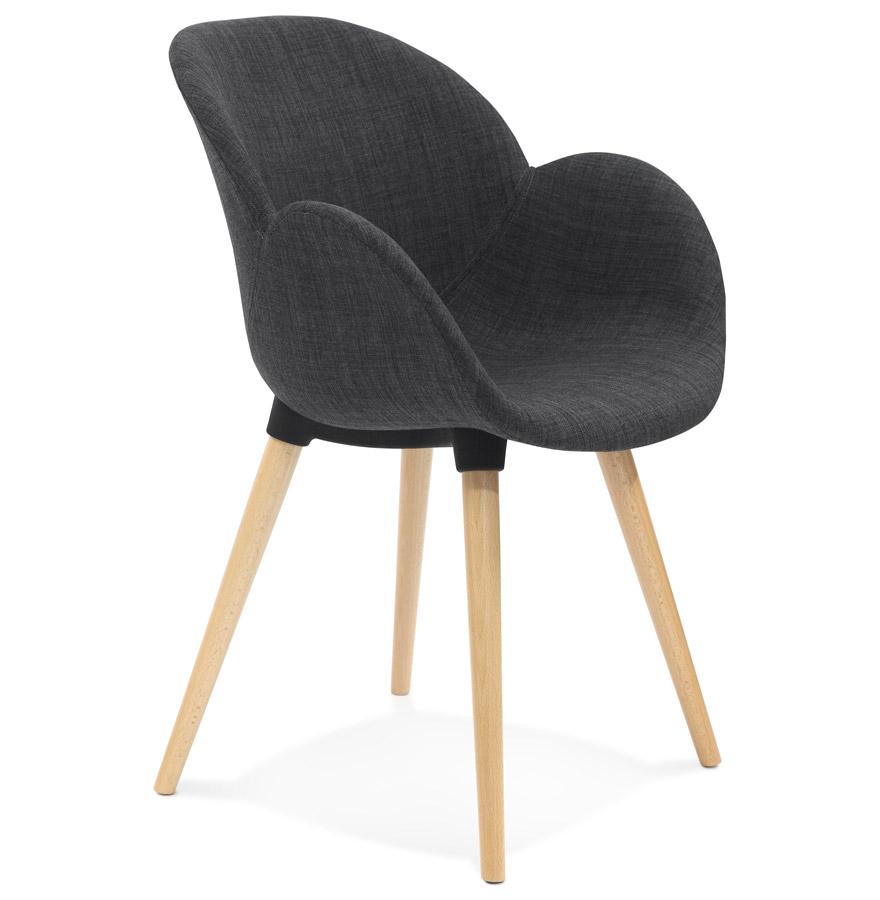 Sagu spisebordsstol / mørkegrå