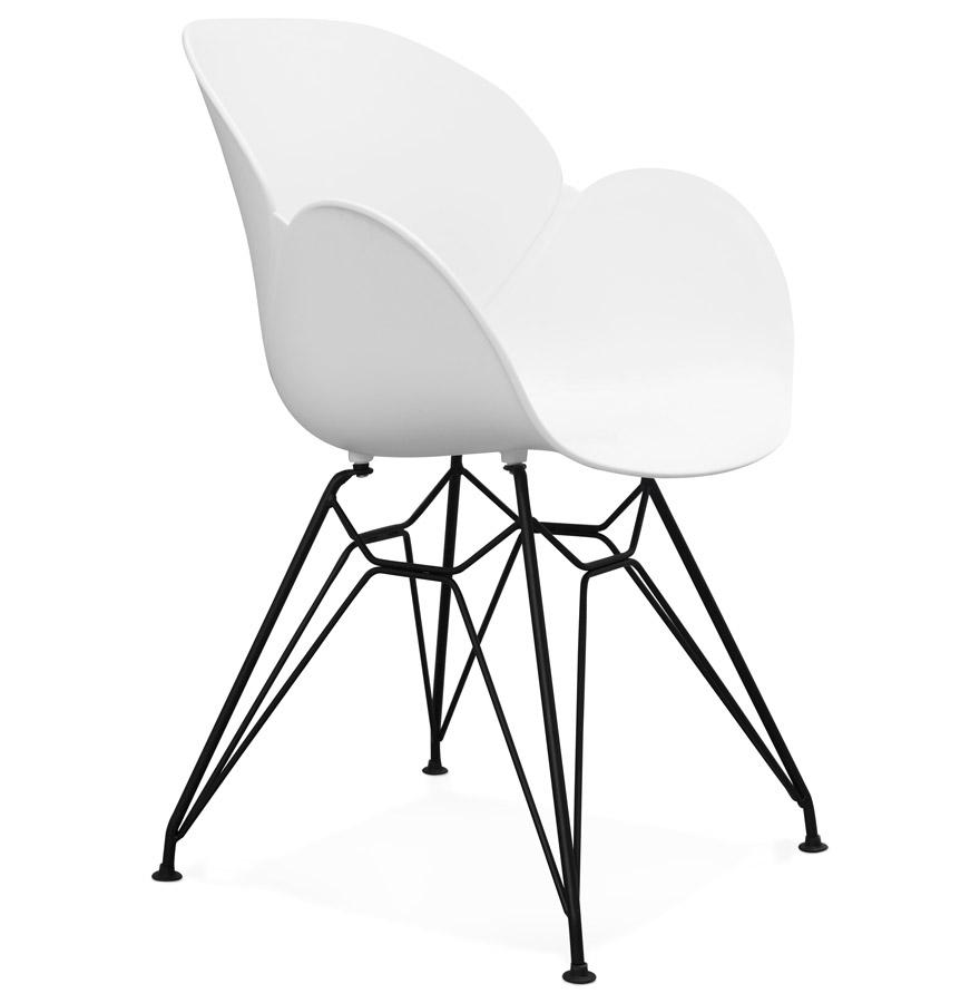 Umela spisebordsstol / hvid