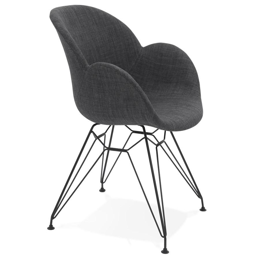 Equium spisebordsstol / mørkegrå