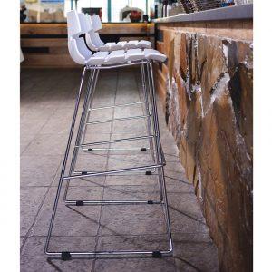 Reny barstol høj / hvid