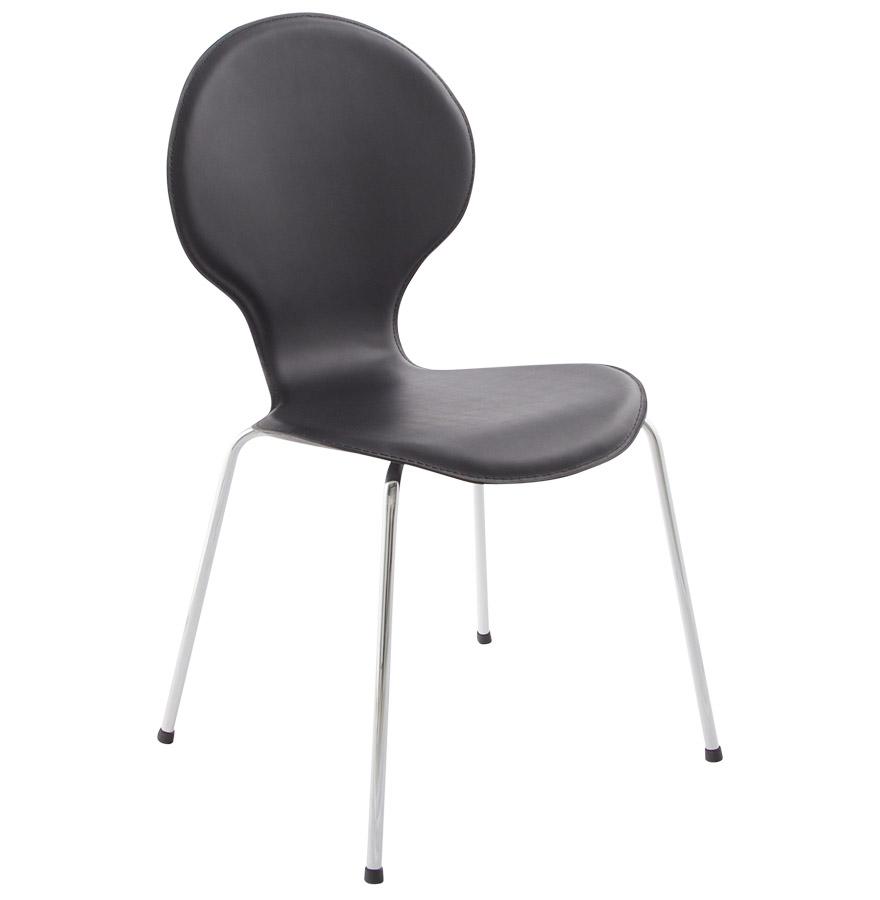 Vlind spisebordsstol / sort