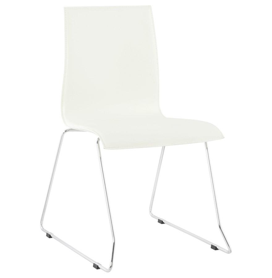 Glasgow spisebordsstol / hvid