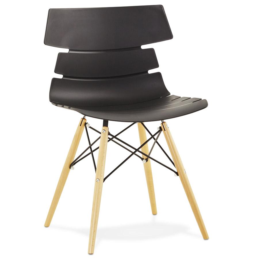 Strata spisebordsstol / sort