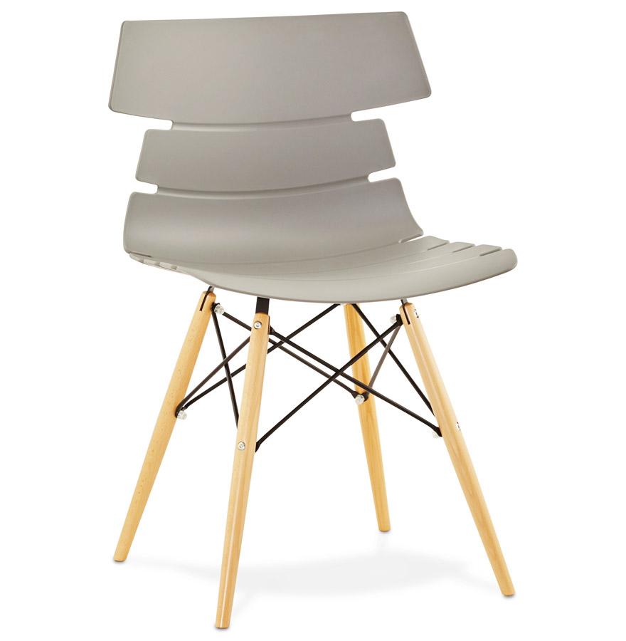 Strata spisebordsstol / grå
