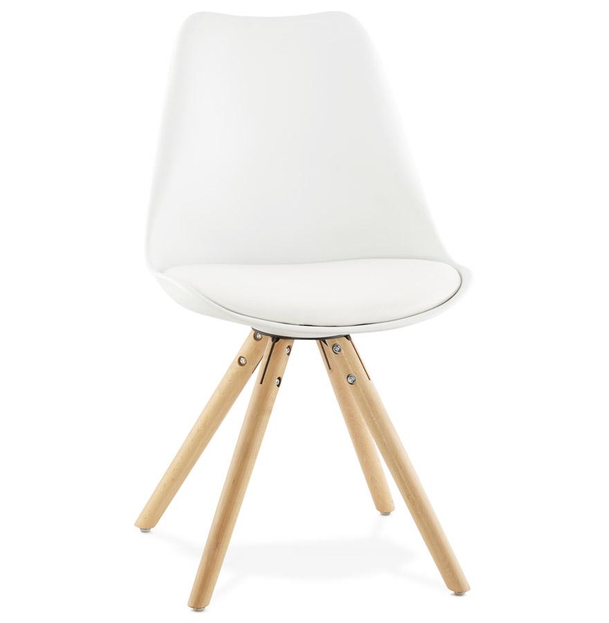 Tolik spisebordsstol / hvid