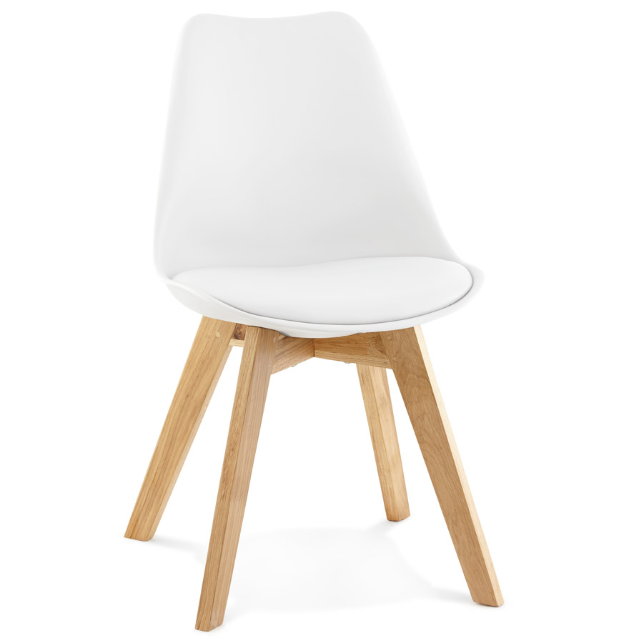 Tylik spisebordsstol / hvid