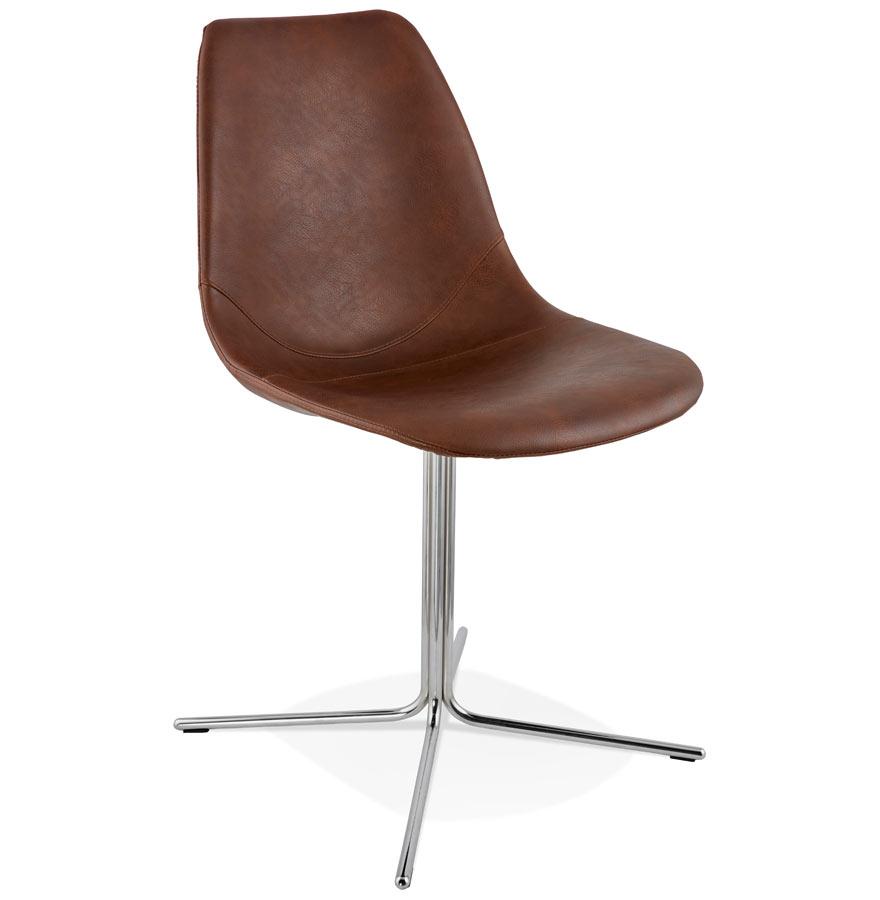 Bedford spisebordsstol / brun