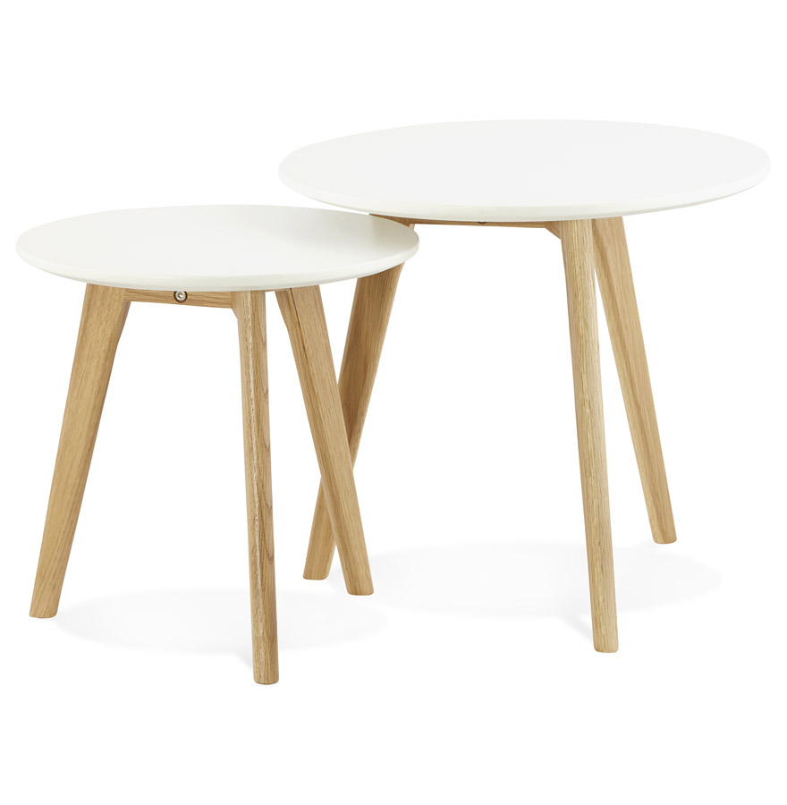 Espino sofabord / hvid