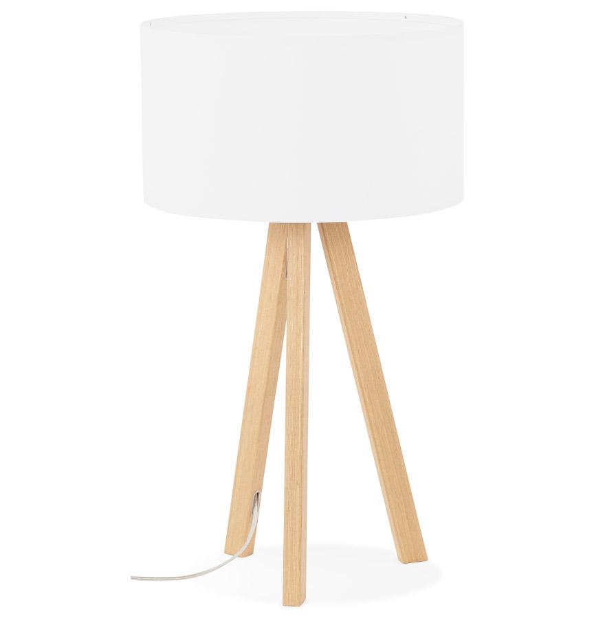 Trivet bordlampe / hvid