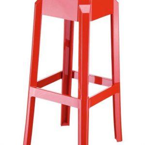 Fox barstol - Rød