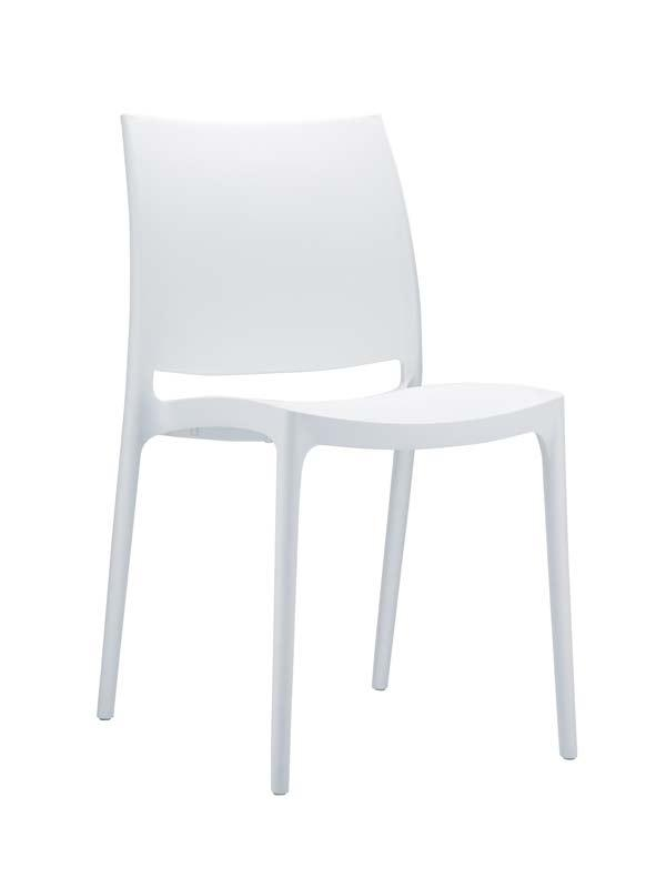 Maya stol - Hvid