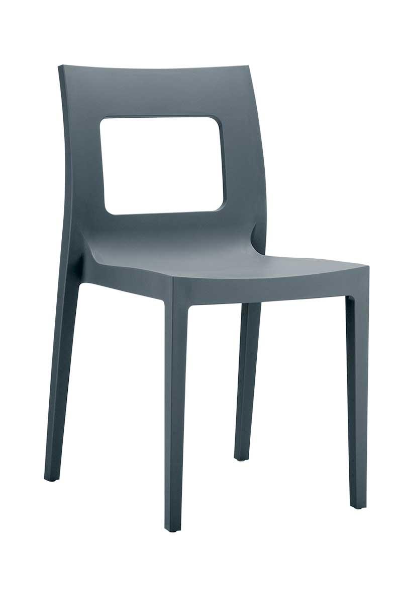 Lucca stol - Grå