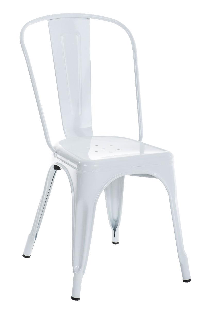 Benedikt stol - Hvid