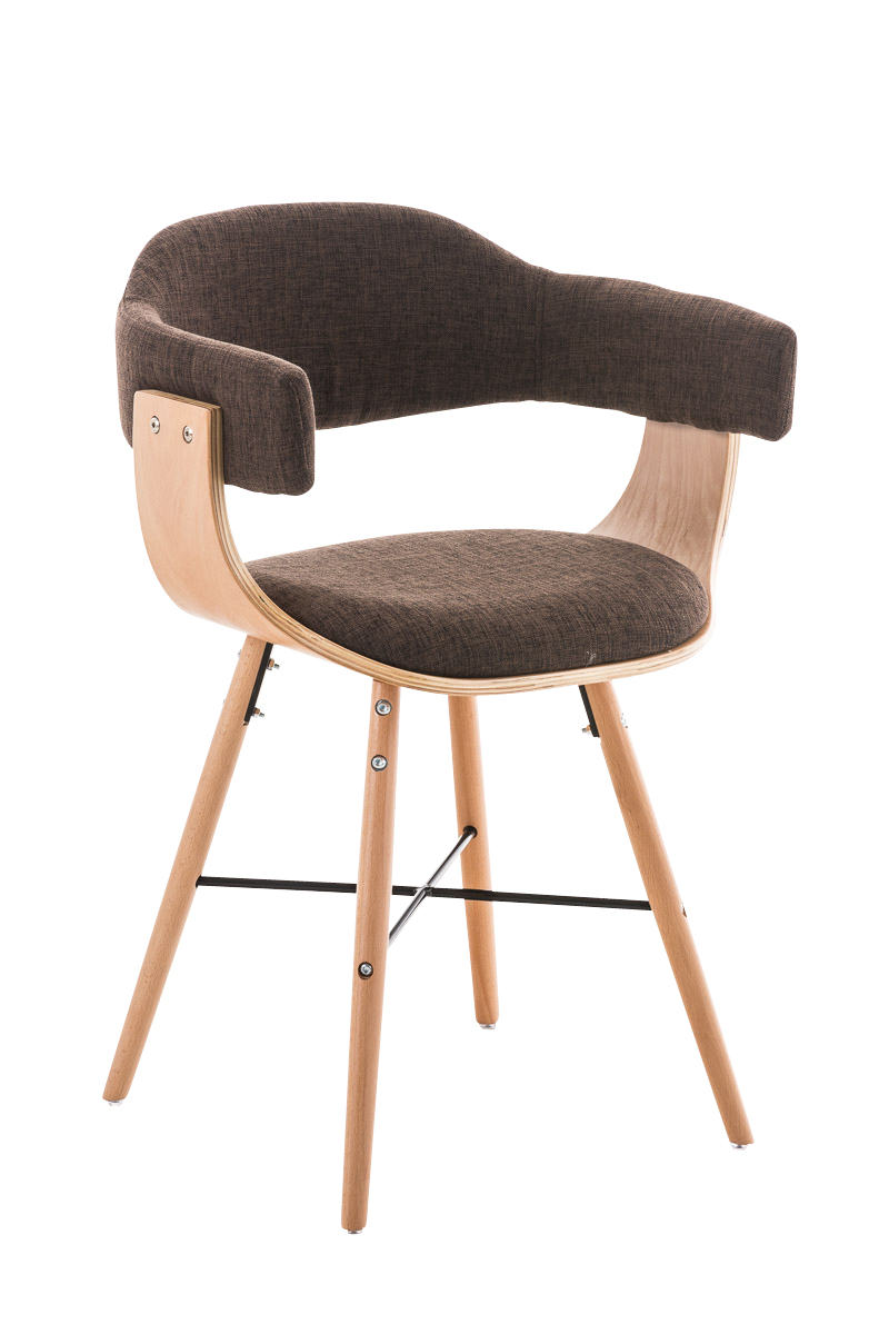 Barry I Chair - Brun