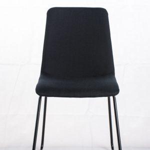 Franz spisebordsstol - Sort