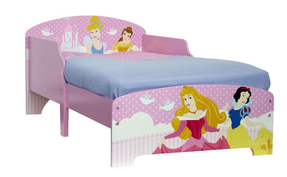 Image of   Disney Prinsesse juniorseng m/madras