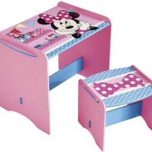 Minnie Mouse bord og skammel