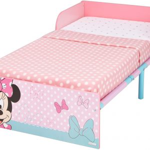 Minnie Mouse juniorseng med madras