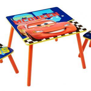 Cars bord og stolesæt