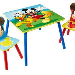 Mickey Mouse bord og stolesæt