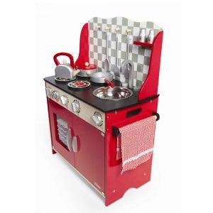 Køkken rødt