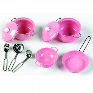 Køkkensæt pink