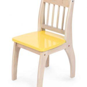 Børne stol gul